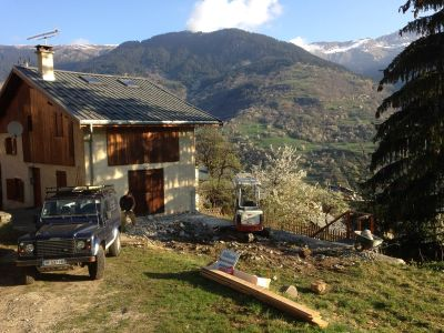 3 Storey Chalet Extension St Bon Courchevel